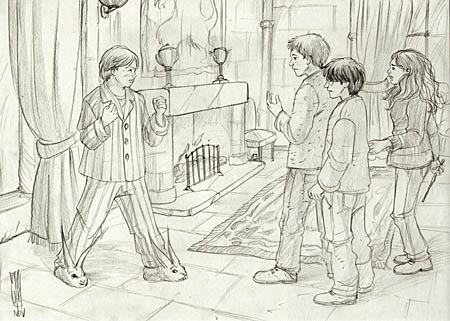 Neville tenant tête au trio
