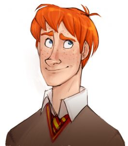 Portrait de Ronald Weasley