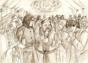 La fête de Noël de Slughorn