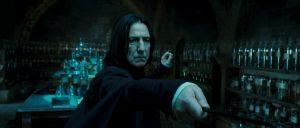 Rogue durant les leçons d'Occlumancie de Harry dans OP/f