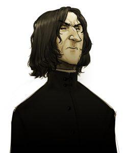 Portrait de Severus Rogue