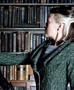 Severus, Bellatrix et Narcissa réalisant le Serment Inviolable dans PSM/f