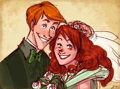Le mariage de Molly et Arthur