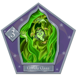 Carte 3 Elfrida Clagg