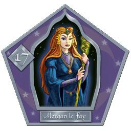 Carte 17 Morgane the Fay