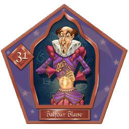 Carte 31 Balfour Blane