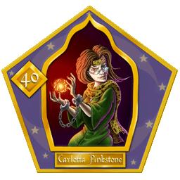 Carte 40 Carlotta Pinkstone
