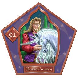 Carte 61 Havelock Sweeting