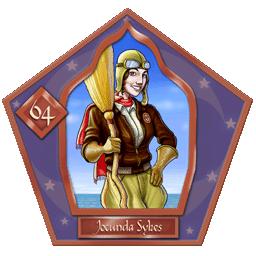 Carte chocogrenouille 64, Jocunda Sykes