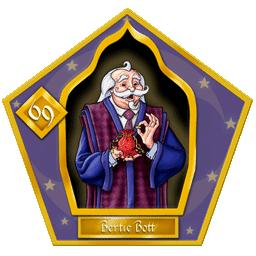 Carte chocogrenouille 69 Bertie Bott