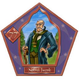 Carte 77 de Norvel Twonk