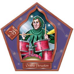 Carte 78 Orsino Thruston