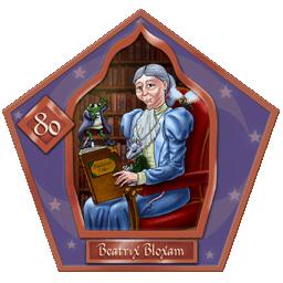 Carte de Beatrix Bloxam