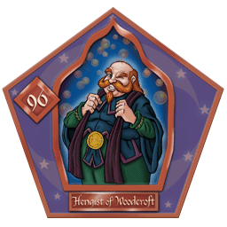 Carte chocogrenouille 96, Hengist of Woodcroft