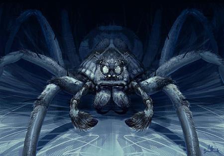 Aragog (projet pour CS/f) par Adam Brockbank