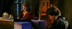 Harry en retenue avec Lockhart dans CS/f