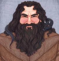 Portrait de Hagrid