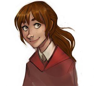 Portrait de Rose Weasley