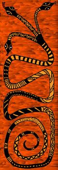 Dessin du Runespoor