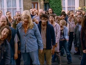 zombies londoniens dans Shaun of the Dead