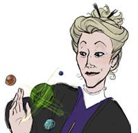 Portrait du professeur Sinistra