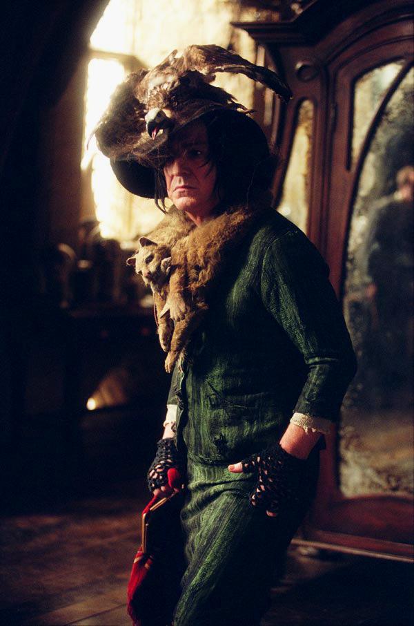 l'Epouvantard sous l'apparence de Rogue dans PA/f © 2004 Warner Bros