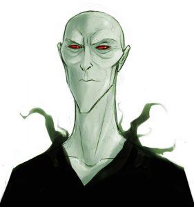 Portrait de Voldemort